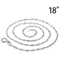 Sterling Silver Snake Chain Plated Necklace