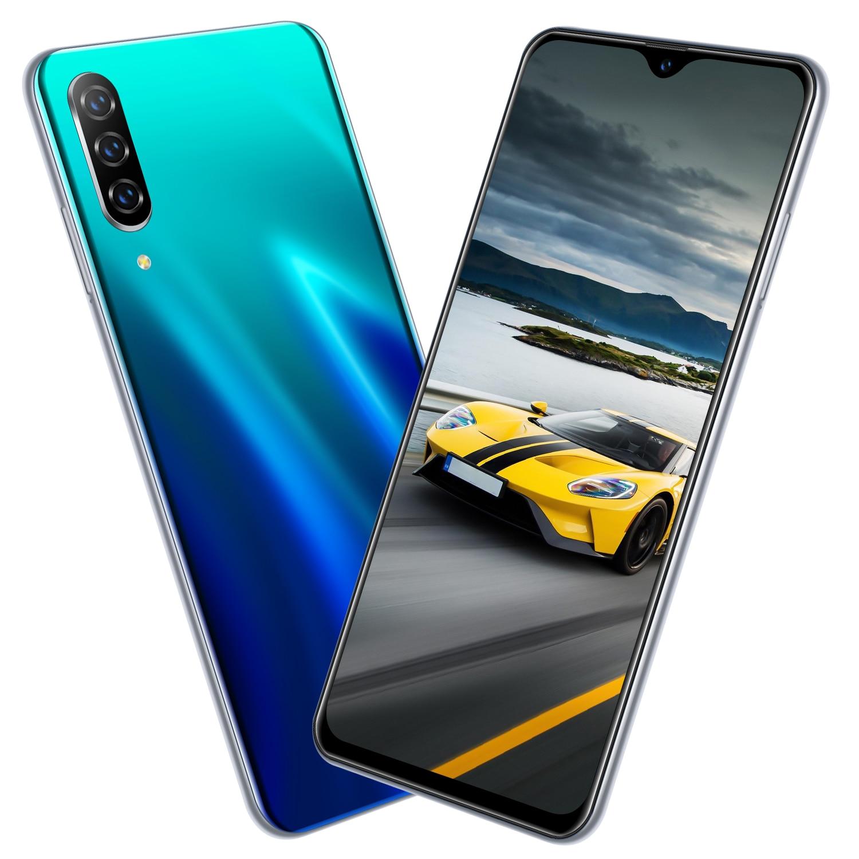 Barato 2gb + 16gb CHAOAI A50 Pro 6.26 Polegada Gota de Água Tela Cheia Versão Global 2 sims Smartphones android 8.1