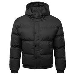 Для мужчин обувь для мальчиков теплые зимние с капюшоном на молнии большой размеры пальто Верхняя одежда куртка топ doudoune homme chamarras para hombre