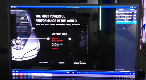 Boucle personnalisée 55 pouces lcd LED affichage transparent infrarouge tactile interactif affichage numérique dosplay