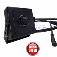 960P Hi3518E Mini Audio Video Camera 1.3 Megapixel Mini IP Camera H.264 3.7mm Pin hole Lens With Microphone Camera For Home Use
