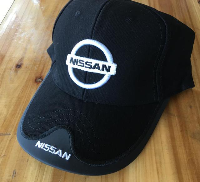 a59a6073427cc Wholesale black red beige dark blue Nissan Baseball Cap man Hat Cap truck  Caps Adjustable
