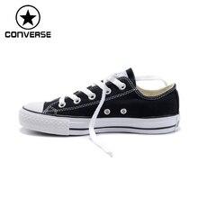 Original Converse Unisex Low top Classic Skateboarding Shoes Canvas Sneakser