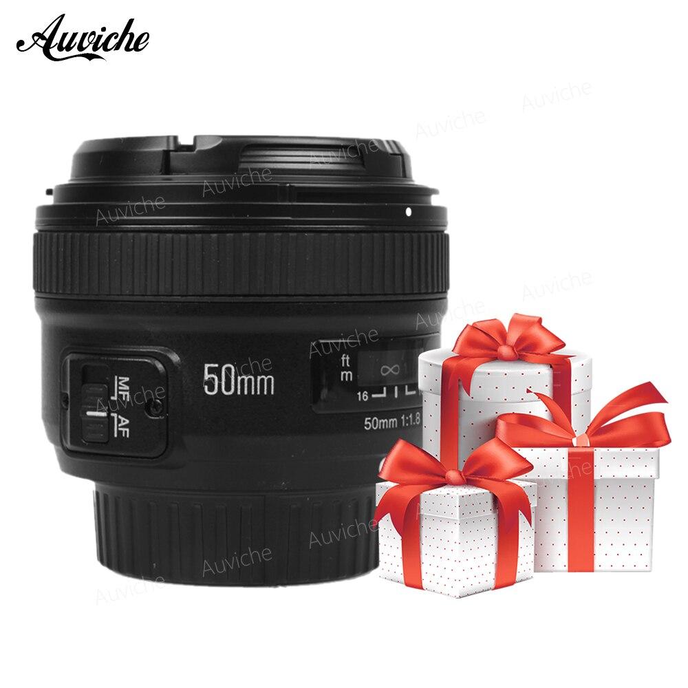 Yongnuo YN50mm F1.8 50mmf1.8 Fixed focus lens AF MF standard prime lens for Nikon camera AI Mount D810 D800 D750 D700 D610 D600 meike mk d750 battery grip pack for nikon d750 dslr camera replacement mb d16 as en el15 battery