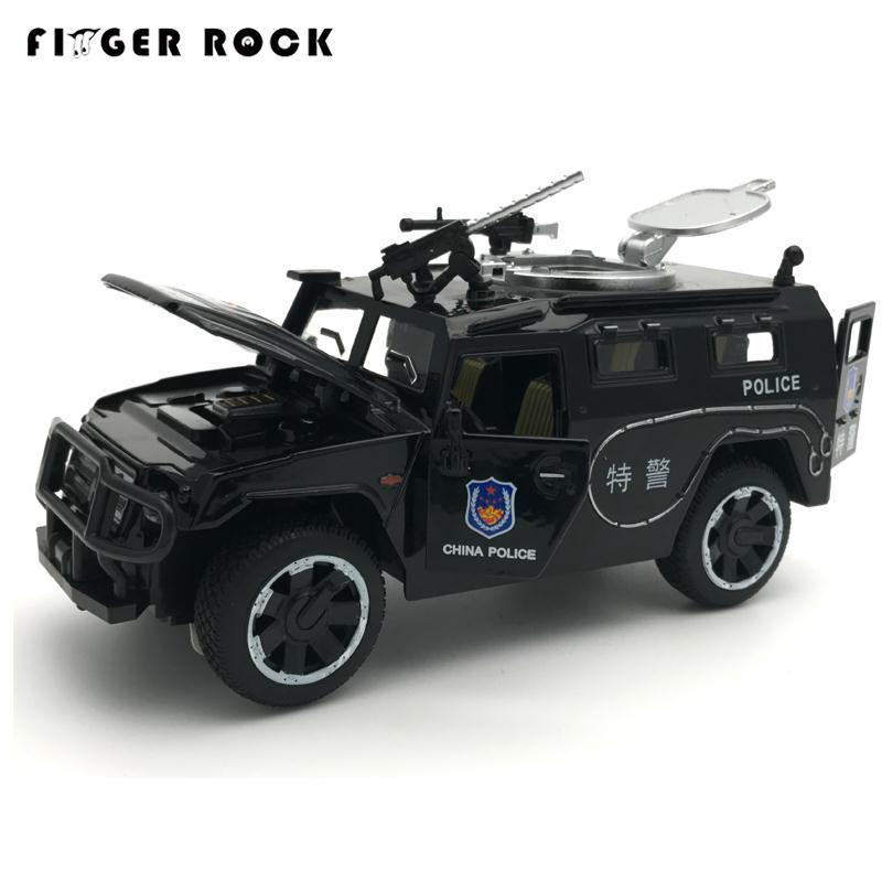 Sheriff's Chariots Oyuncak Araba 1:32 5Doors can be Opened's Diecast Metal Car Boy Acousto-optic Police Car Model Alloy Car Toy rambo lp 750 toy alloy car models 1 32 simulation children acousto optic car model