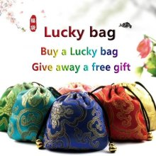 Lucky Bag Interesting Holiday jewelry For Men Women with ring necklace bracelet and earring jewelry set lucky bag(China)