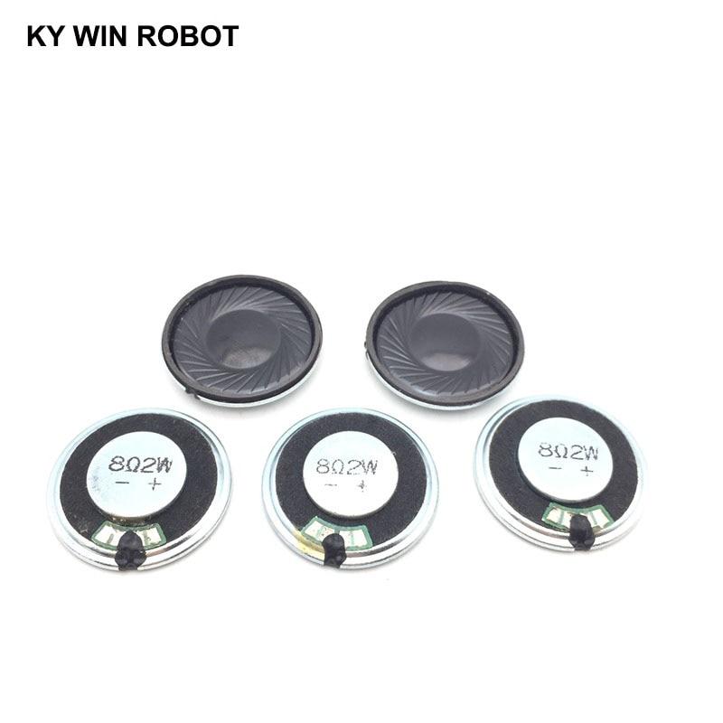 5pcs/lot New Ultra-thin Speaker 8 Ohms 2 Watt 2W 8R Speaker Diameter 30MM 30CM Thickness 5MM