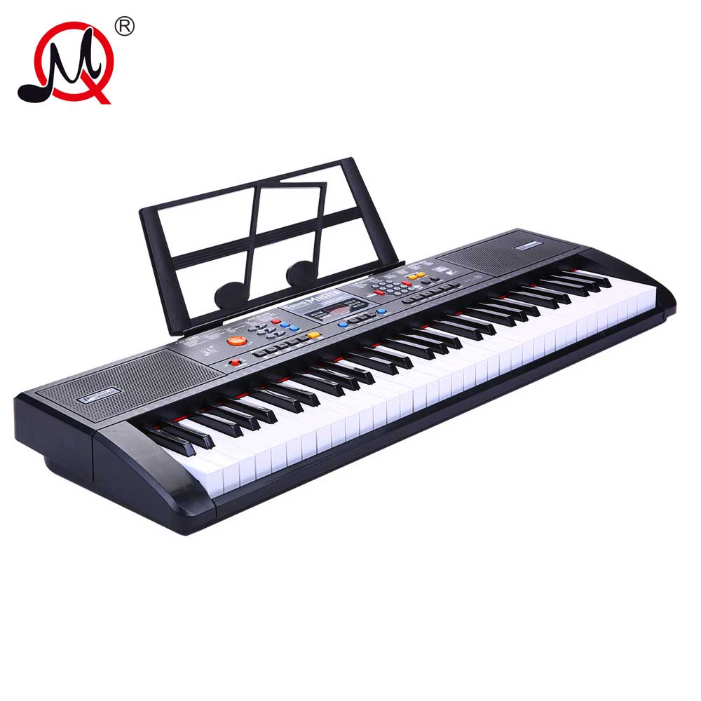61 Keys Adult Professional Musical KeyBoard Piano Instrument Electronic Key board Big Size Digital Piano Music Toys For Teenager irin professional mini 17 key accordion educational keyboard musical instrument for both kids
