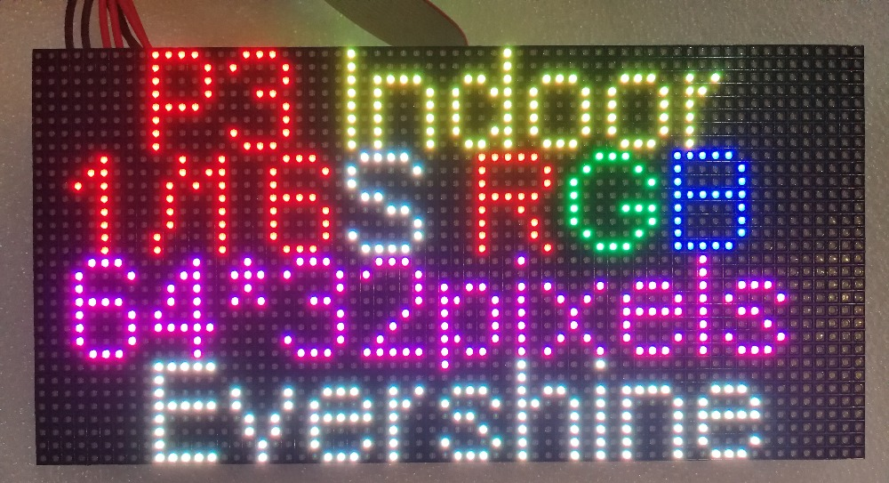 P3 indoor rgb full color led module-4