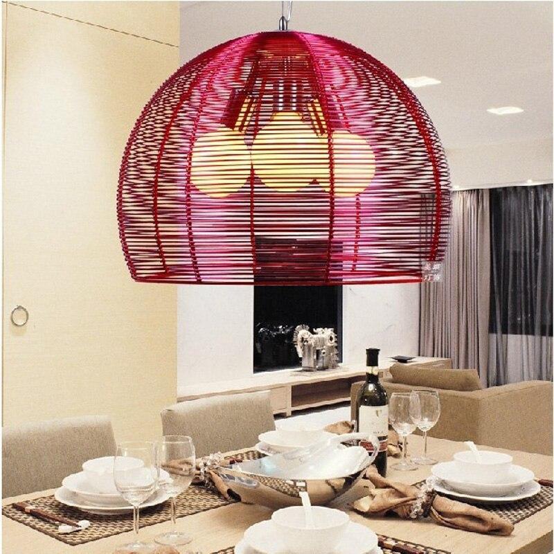 Здесь продается  2015 new modern minimalist three creative bar restaurant chandelier lighting lamps bedroom living room den aluminum wire FG640  Свет и освещение