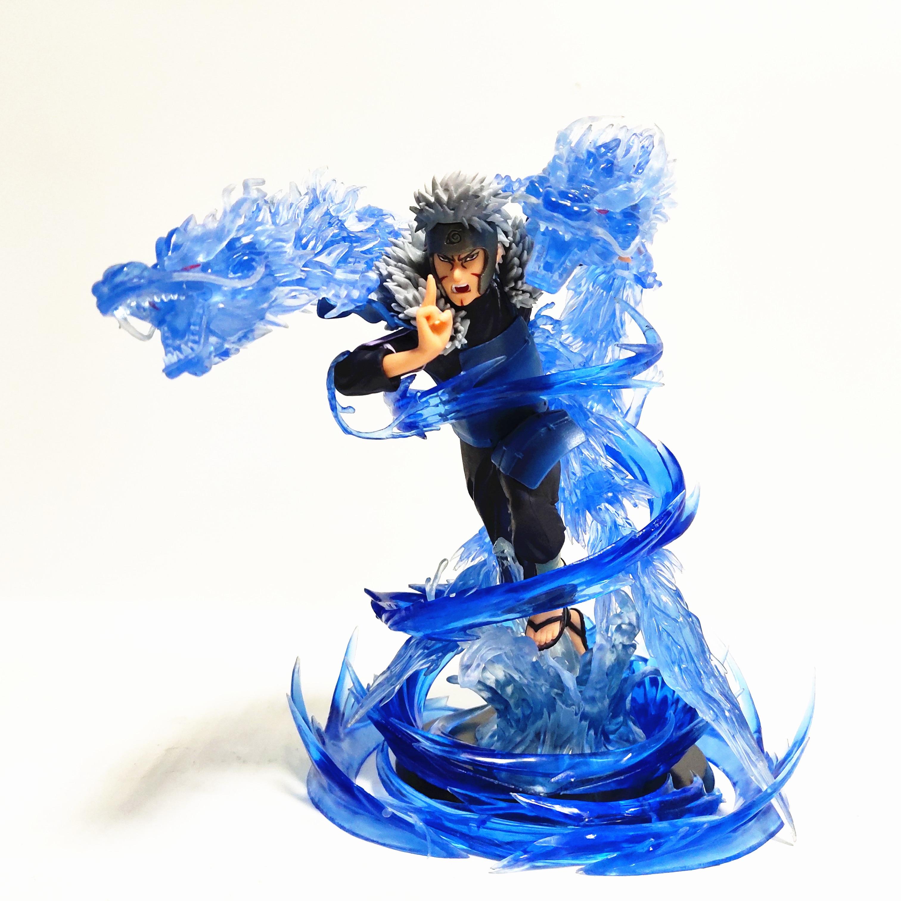 Naruto Senju Tobirama eau Dragon balle PVC figurines d'action bricolage ensemble Anime Naruto Shippuden Figurine jouet Diorama Brinquedos