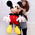 80CM 2016 Wholesale New Valentines Gift Mickey Minnie Plush Toy Large Mickey Mouse Lovers Doll Birthday Celebration