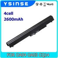 YSINSE 4CELL Laptop Battery For HP OA04 OA03 HSTNN IB5Y HSTNN PB5S 250 255 240 G2
