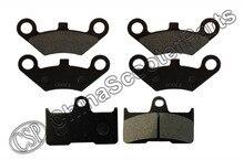 3 Pairs Semi metallic Front Rear Brake Pad For CFmoto CF500 500 500CC  CF600 600 600CC X5 X6 X8 U5 ATV UTV Shineary