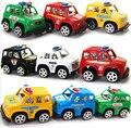 6 шт. горячие симпатичные мини-игрушки автомобили лучший рождественский подарок на день рождения для ребенка пластик мини-автомобиля модель детей игрушки для мальчиков и девочек