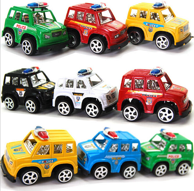 6pcs HOT Cute mini Toy Cars Best Christmas birthday Gift for Child Plastic Mini Car model kids toys for boys and girls