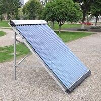 Солнечный коллектор нагреватель с герметичными трубками стеклянная трубка 100L 10 трубок