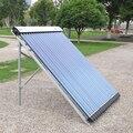 Tubo de vidrio de tubo de calor A Presión Colector Solar 100L