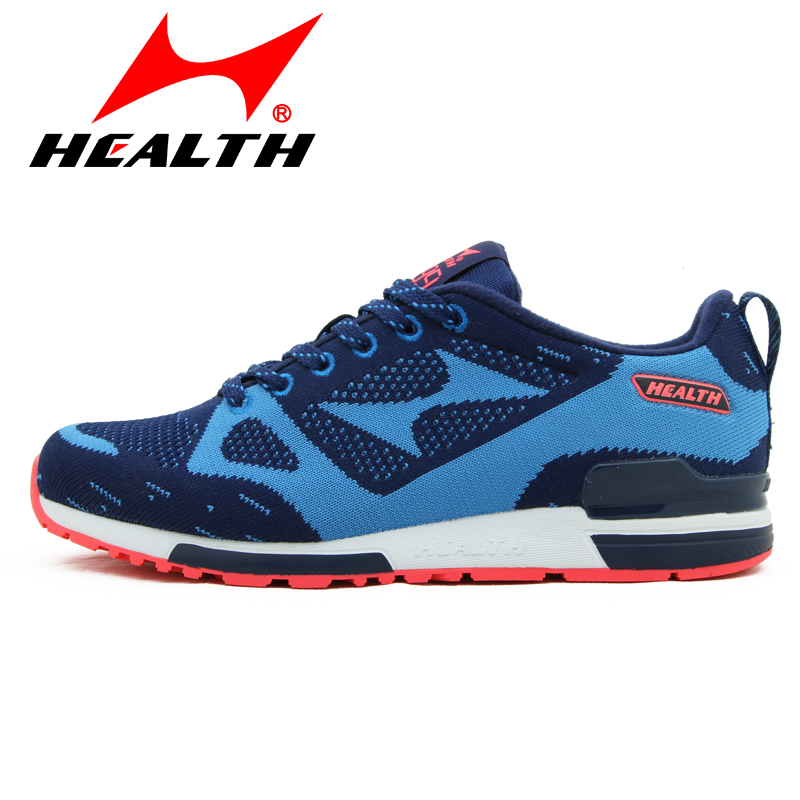 ФОТО HEALTH official genuine brand running shoes wear anti-slip shoes breathable sneakers air damping