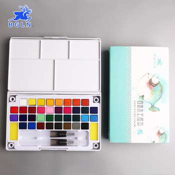 Solid Watercolor Paint Set