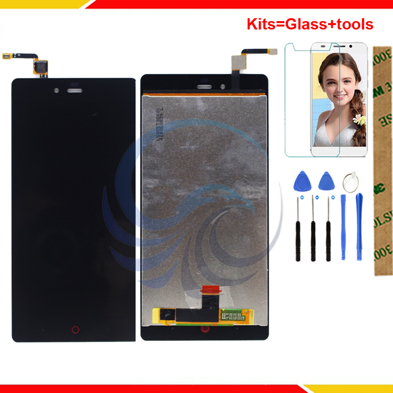 A CRISTALLI LIQUIDI di tocco Per ZTE Nubia Z9 Max NX510J NX512J NX518J Screen Display LCD Con L'assemblea di Schermo di Tocco