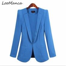 Plus Size 5XL Autumn Blazer Women Slim fit Casual Jacket Feminino Ladies Blazers Work Wear