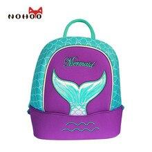 NOHOO Schmetterling Wasserdicht Kinder Schultaschen Meerjungfrau Tiere Schule Rucksäcke Teenager Mädchen Große Kapazität Baby Rucksack