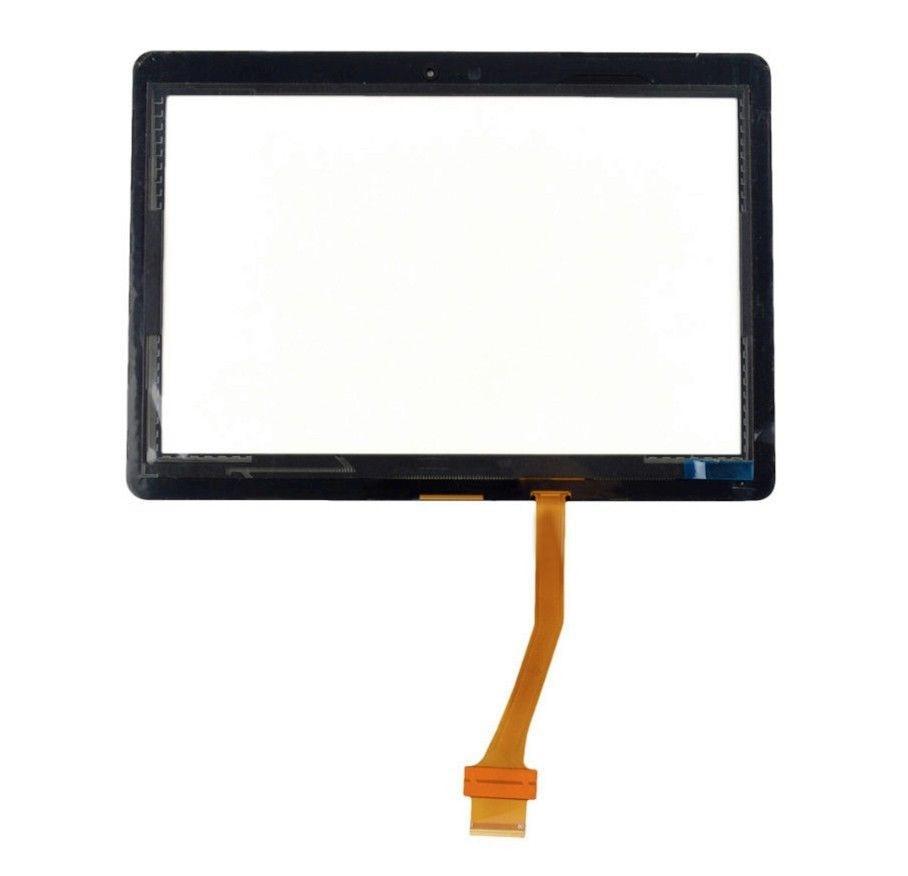 Black Touch Screen Panel Digitizer Glass Lens Sensor For Samsung Galaxy Tab2 10.1 P5100 P5110 original for samsung p5110 p5100 n8000 touch screen touch screen touch capacitance screen