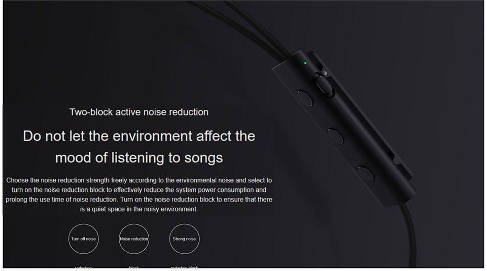 Оригинал Xiaomi 3,5 мм ANC Наушники гибридные 3 блока 2 класса шумоподавления Наушники с высоким шумоподавлением Hi-Res наушники (16)
