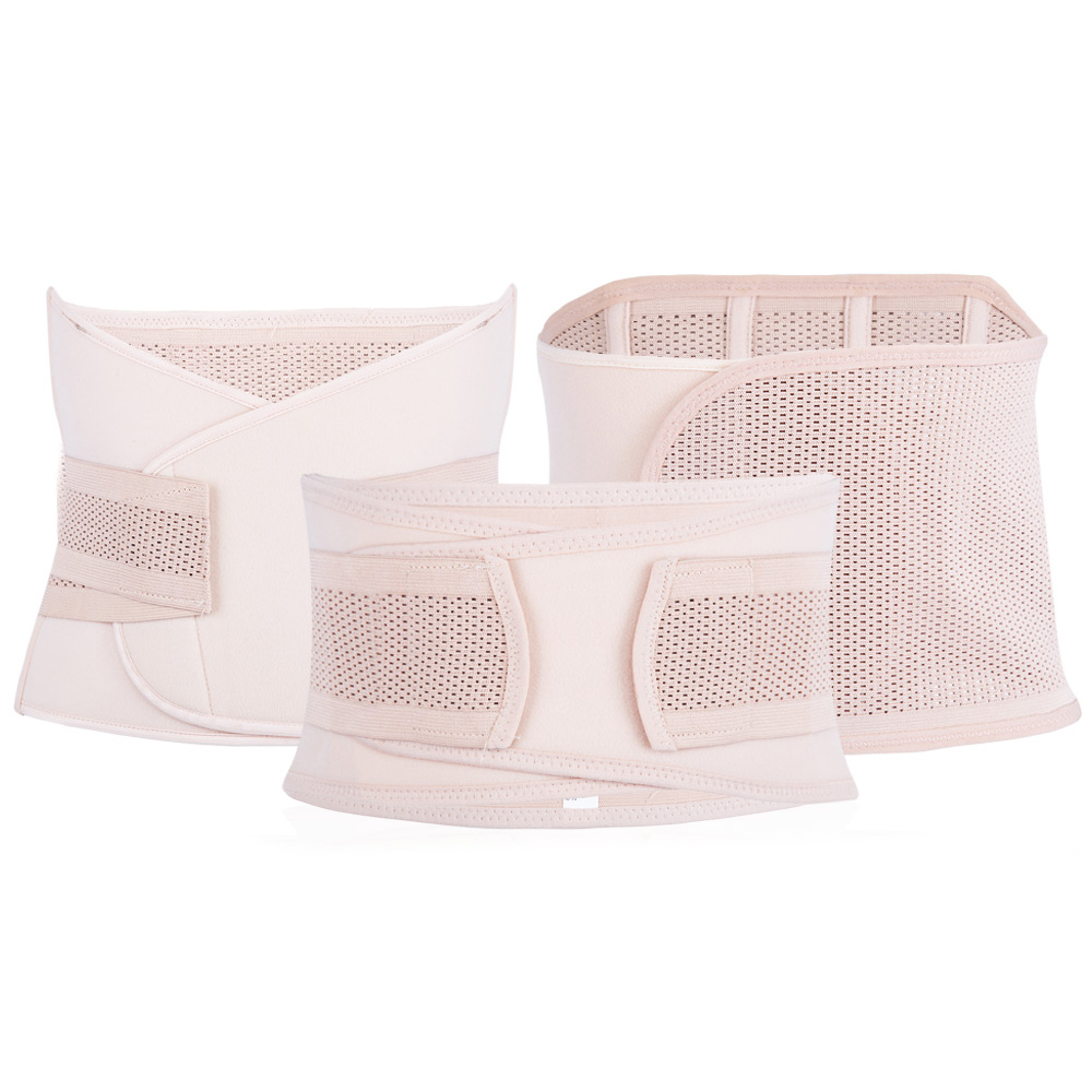 3pcs/Set Maternity Postnatal Belt After Pregnancy Belly Band Pregnant Waist Corset Women Breathable Slimming Shapers Underwear