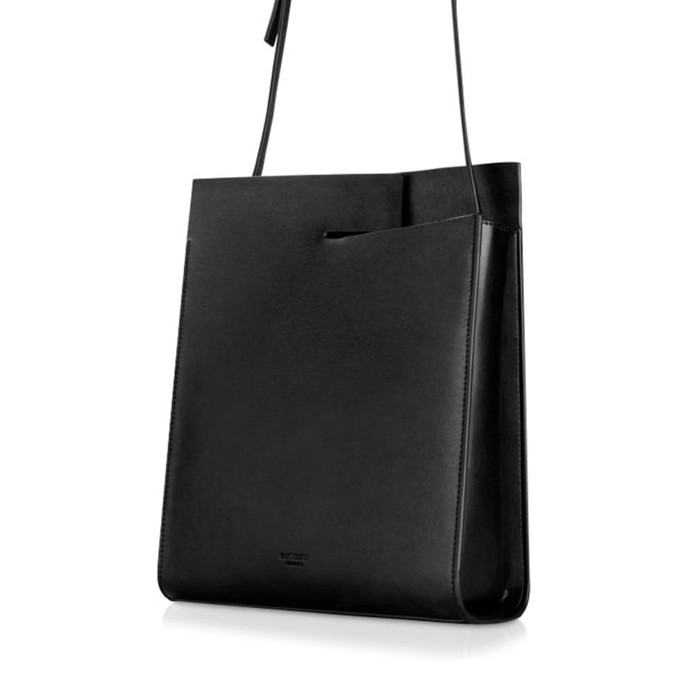 ZOEY 2018 New Women Tote Simple Fashion Female Sling Bag Genuine LeatherrZOEY 2018 New Women Tote Simple Fashion Female Sling Bag Genuine Leatherr