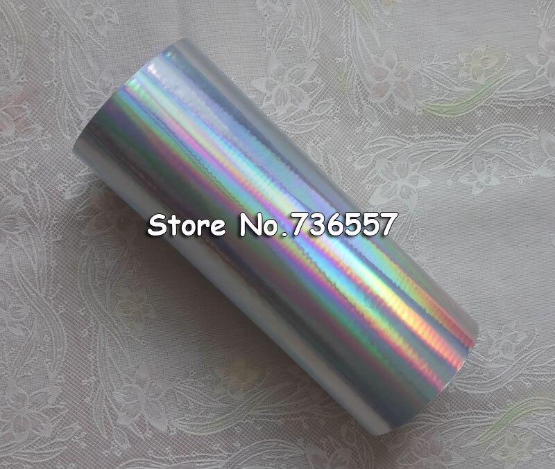 Badge Holder e Acessórios folha holográfica simples cor prata Tipo : Hot Stamp Foil