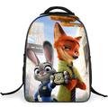 2017 new arrival Zootopia unisex school bags for girls boys children backpack kids bag mochila infantil primary 1-5 high quality