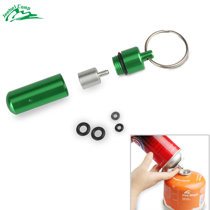Gas  Refill Adapter Outdoor Camping Stove Cylinder Filling Butane Canister V G4