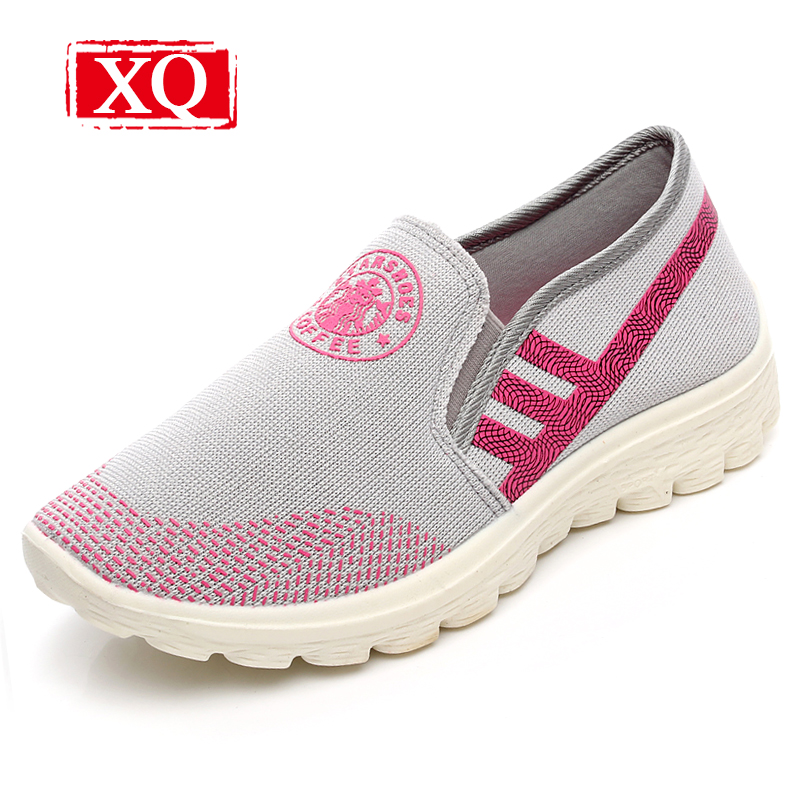 XQ 2017 New Lightweight Women Fashion Breathable Loafers Antiskid Flat Shoes Ladies Single Casual Slip-on Soft Sole Shoes L131 pamasen new women s casual shoes available women flat shoes woman slip on loafers fashion female woven shoes breathable footwear