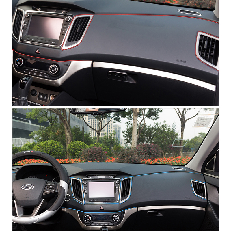 1 ~ 500 м Наклейки и наклейки декоративные 3d Нитки Наклейки украшения полоса на автомобиле Средства для укладки волос автомобилей