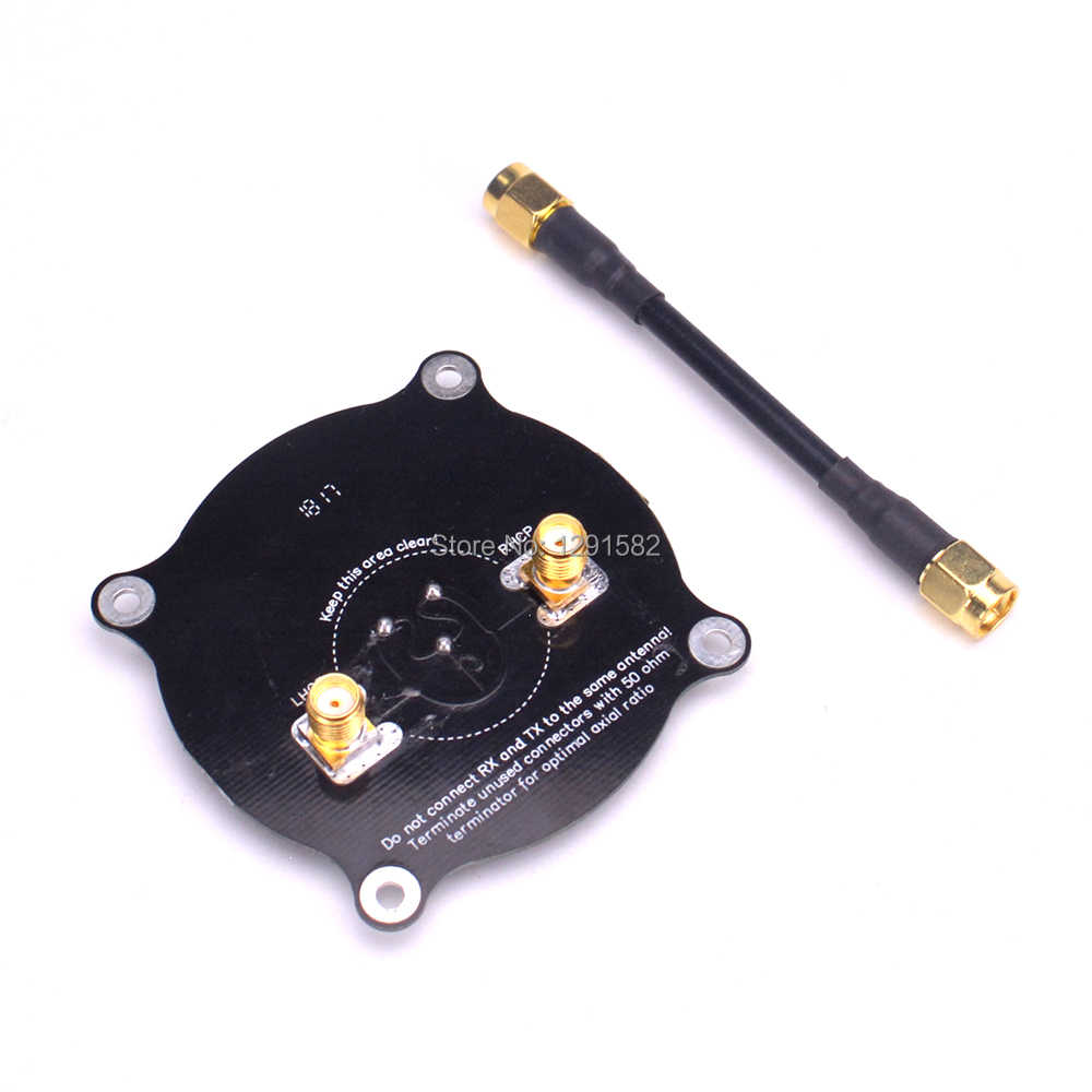 5.8GHz Triple Feed Patch Antenne SMA/RP SMA Directionele Circulair Gepolariseerde Antenne voor FPV RC Drone