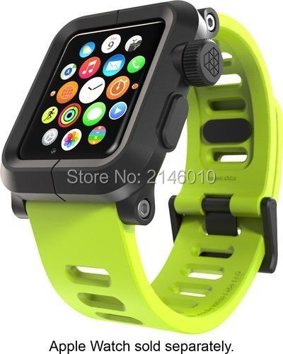 brand new 3d87b bea78 US $18.04 5% OFF NEW LUNATIK EPIK Polycarbonate Silicone Band for Apple  Watch Case 38MM 42MM Series 1, Series 3/2-in Watchbands from Watches on ...