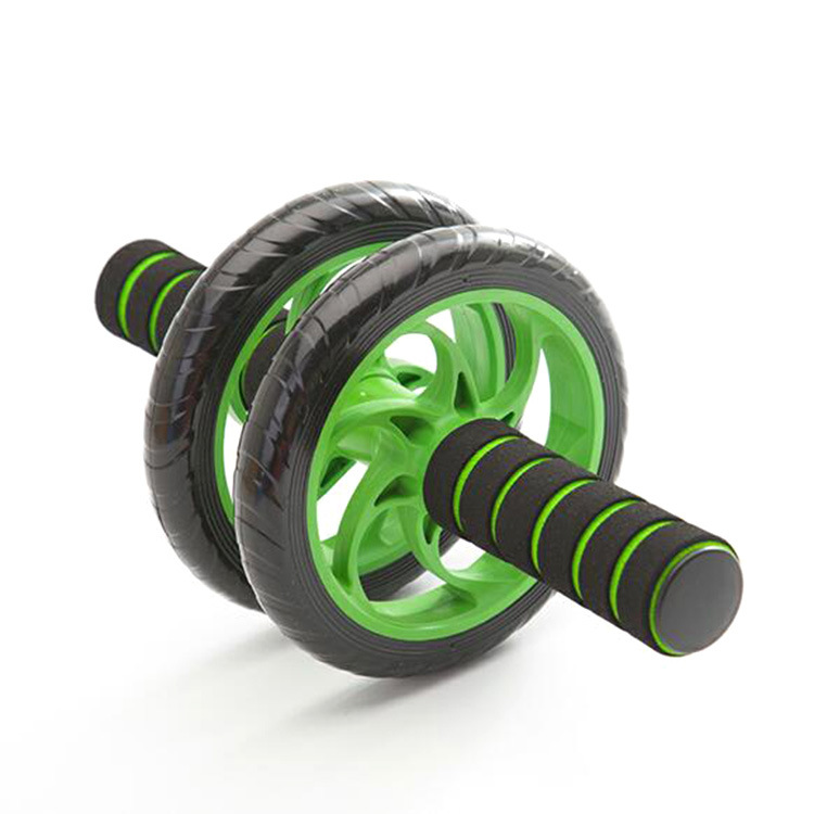 Healthy abdominal wheel, abdominal muscle wheel, two wheels, three rounds of abdominal organs, silent roller