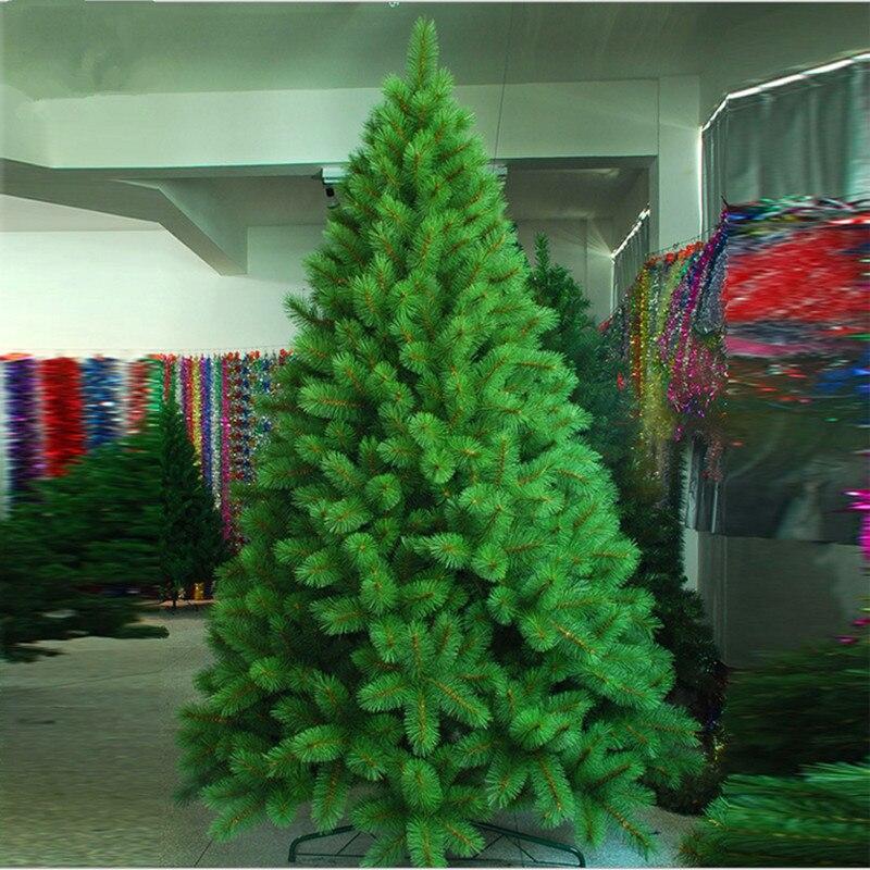 Christmas Tree Needles: New Year Christmas 2.1M Or 2.4M Full Of Pine Needles