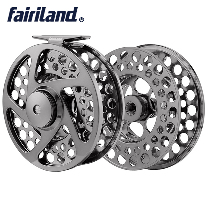 110mm(4.33) fly reel with SPARE SPOOL 9/11 3BB PRECISION MACHINED fly fishing reel from BAR-STOCK ALUMINUM large arbor design 95mm fly fishing reel 7 8 cnc machined aluminum 2 1bb fly spool fishing wheel fishing accessory