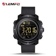 Получить скидку Lemfo lf19 Смарт-часы Водонепроницаемый SmartWatch bluetooth шагомер сообщение телефон напоминание для iOS телефона Android