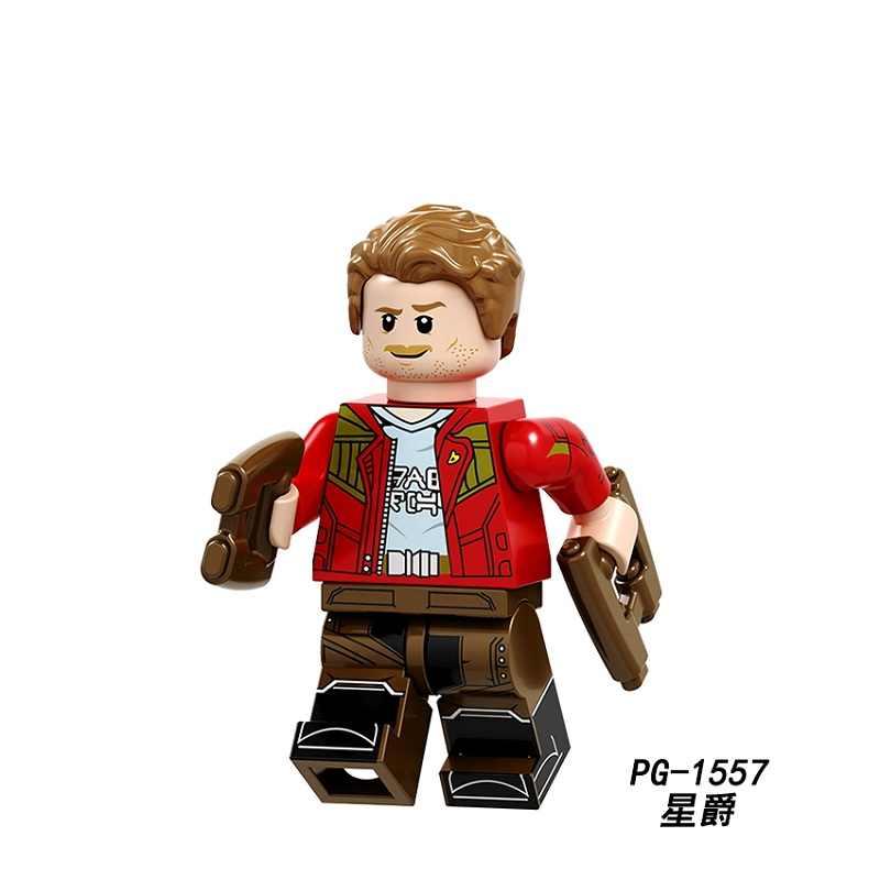 מכירה אחת בניין בלוקים PG8130 Avengers3 אינפיניטי מלחמת פיטר ג 'ייסון נוצת תאנסו SuperHero StarWars לבנים בובות ילדים DIY צעצועים