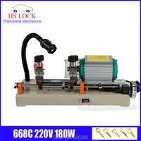 220v 120w 668C key cutting machine car key duplication machine auto locksmith tools
