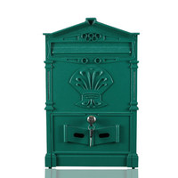 European retro villa letter box outdoor waterproof mailbox wall letter box decoration suggestion box mailbox