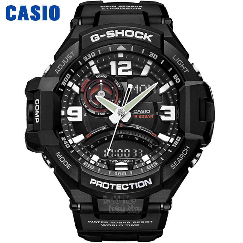 Casio watch Aerial outdoor sports electronic waterproof male watch GA-1000-1A GA-1000-1B GA-1000FC-1A casio g shock g classic ga 110mb 1a