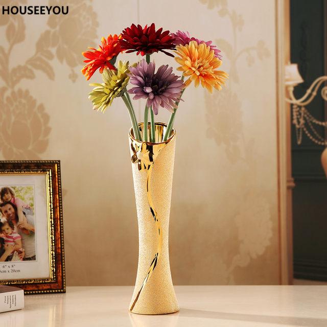 Online Shop Modern Ceramic Vases Decorative Flower Container Vase