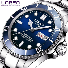 LOREO Mens Watches Top Brand Luxury Automatic Mechanical
