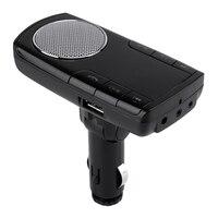 New Bluetooth V2 1 Car Kit Wireless FM Transmitter Radio Adapter FM Modulator Handsfree Music Mp3