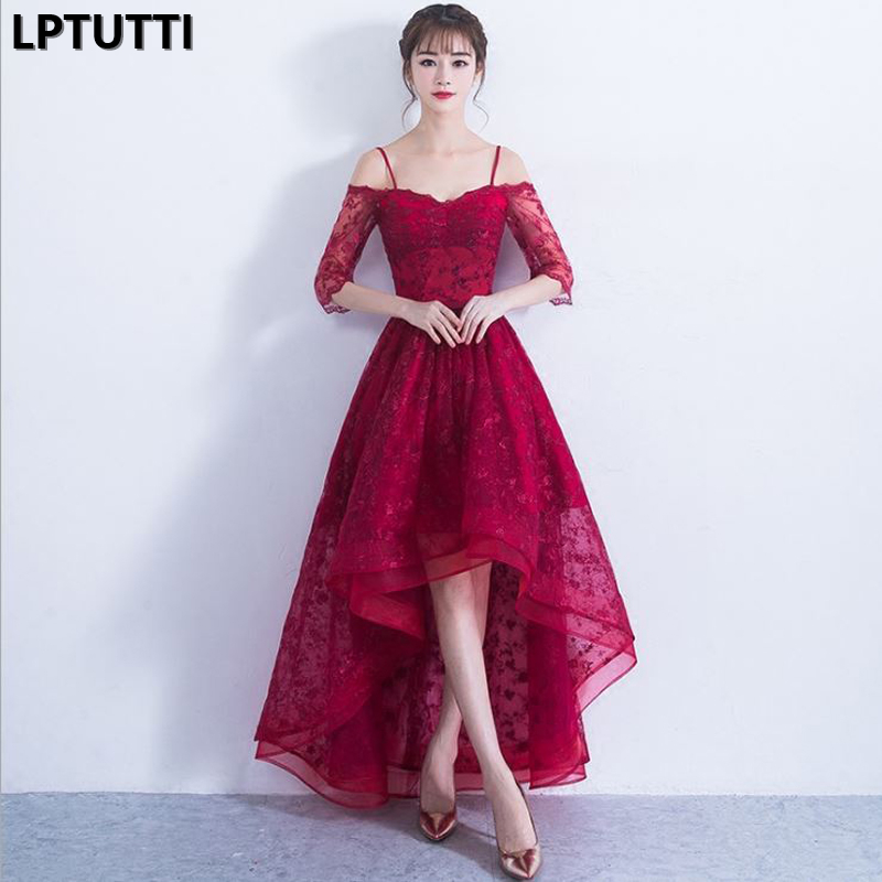 LPTUTTI Lace Embroidery Gratuating New For Women Elegant Date Ceremony Party Prom Gown Formal Gala Luxury Long Evening Dresses